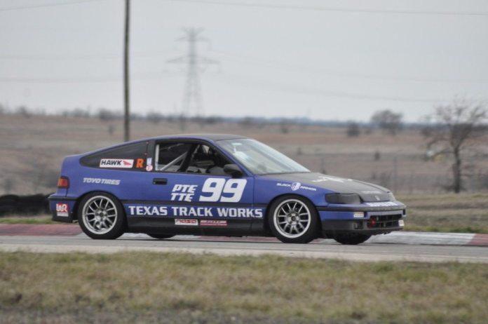 Kim Whitener took the TTE win on Sunday in her Honda CRX.