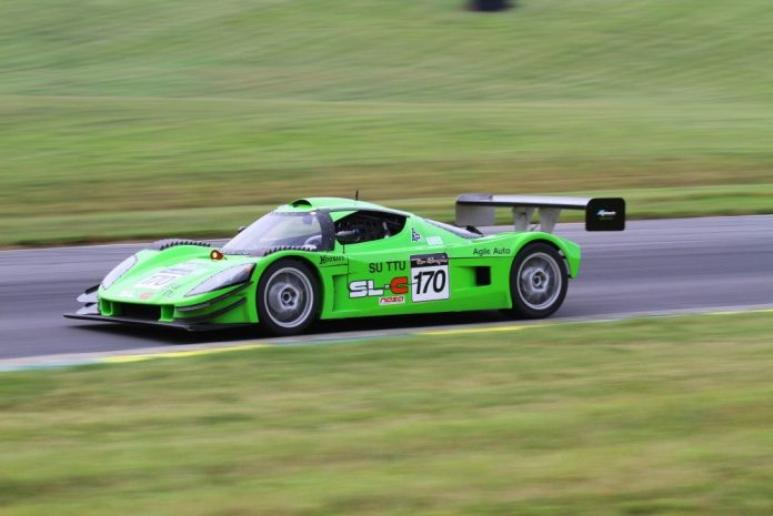 After taking part in the Grassroots Motorsports Ultimate Track Car Challenge at VIR a couple of weekends before, Dan Raver piloted his Superlite RLC Coupe to a second-place finish.