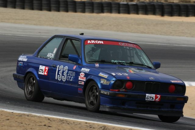 Sean Aron took second in GTS2, his first podium at a Championships event.
