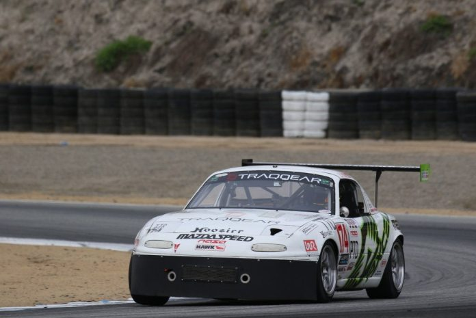 NASA Florida's Eric Powell picked up the win in TTD with a 1:40.864, making him a semifinalist for the Mazda Club Racer Shootout.