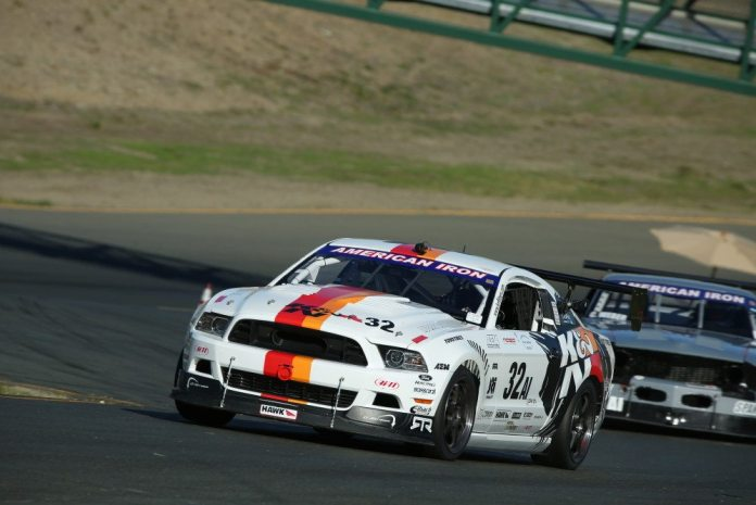 Ryan Walton scored pole and had the lead for half the race, but came in second in American Iron.