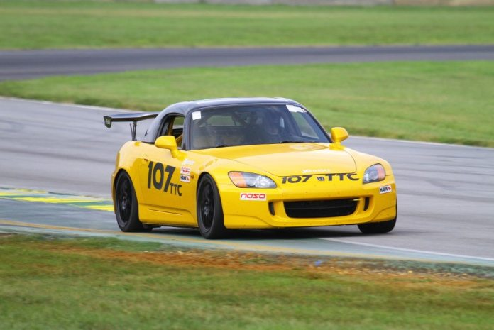 Driving a 2002 Honda S2000, Brian Barclay took the TTC Championship with a lap time of 2:09.981.