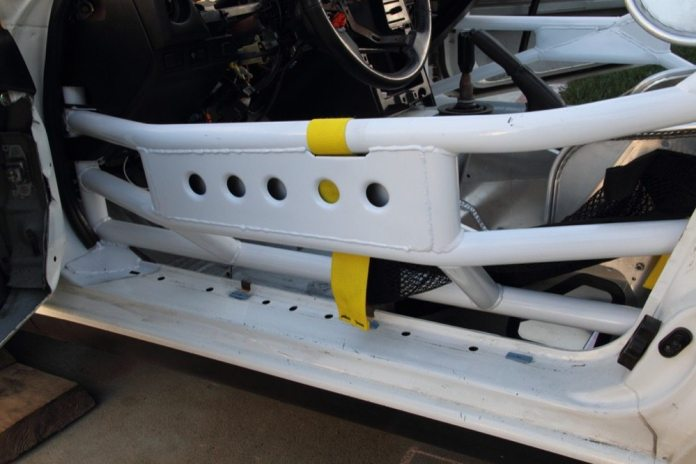 If the car gets T-boned on the driver side, the plates help mitigate the risk of having something penetrate between the bars, like, say, a tow hook, Almagor said. Also, by having the bent bars connected to the straight tube on the bottom, it enhances side impact protection.