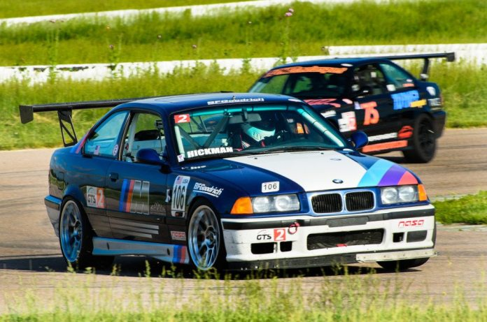 Rob Hickman scored two wins in GTS2 at Heartland Park Topeka at the combined Rocky Mountain/Central Region event the last weekend in May.