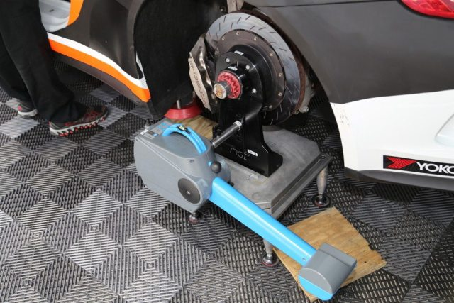 Of course, if you have the means and the know-how, there are more sophisticated alignment systems available for making suspension adjustments at the track.