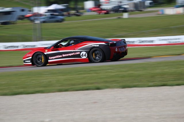 It was nice to see high-end Italian hardware on track at Road America.