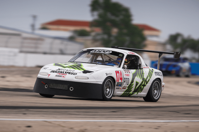 NASA Florida's Eric Powell has competed in karts, stock cars, open-wheel and touring cars, and now, NASA PTD/TTD.