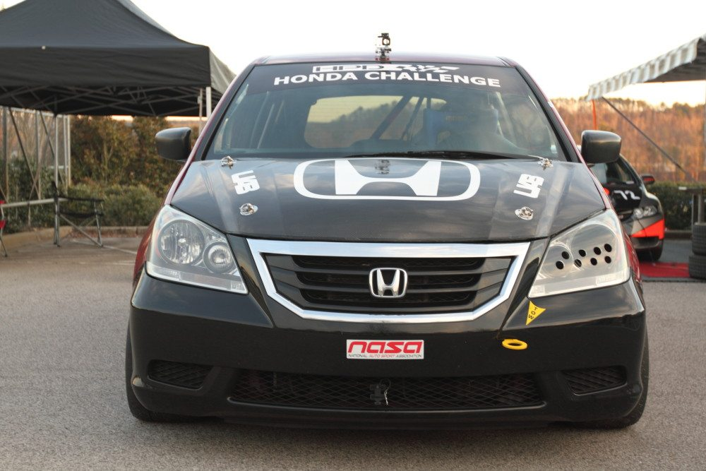 A Group Of Engineers From Honda Manufacturing Alabama Has Been Using  Odyssey Minivans For Everything From Autocross, Rally Cross And Track Days  To Racing At ...
