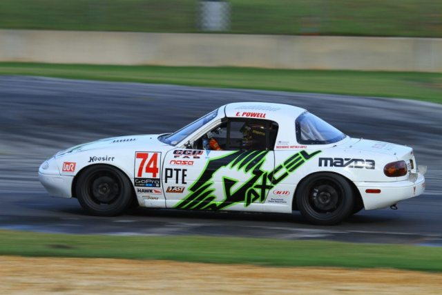 Eric Powell chased Ben Anderson for the win but came up just a bit short and finished second.