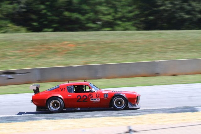 Joe Freda drove his 42-year-old Chevrolet Camaro to second in Super Unlimited.