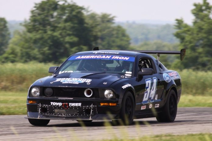 Jeff Wood scored two victories at Gingerman and was DQ'd in race two for passing under yellow.