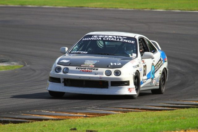Michael Maduske started from eighth in the Honda Challenge 2 field and took home second place.