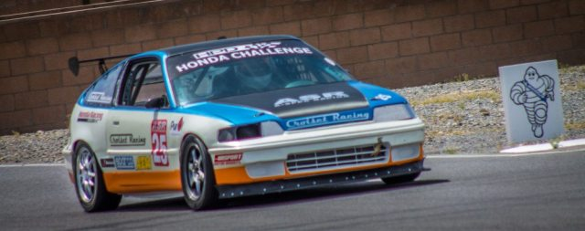 Arizona's Andy Hope took the checkered flag on Saturday and Sunday, but an incident with an out-of-class car meant the win went to 2012 H2 National Champion Jeremy Croiset.