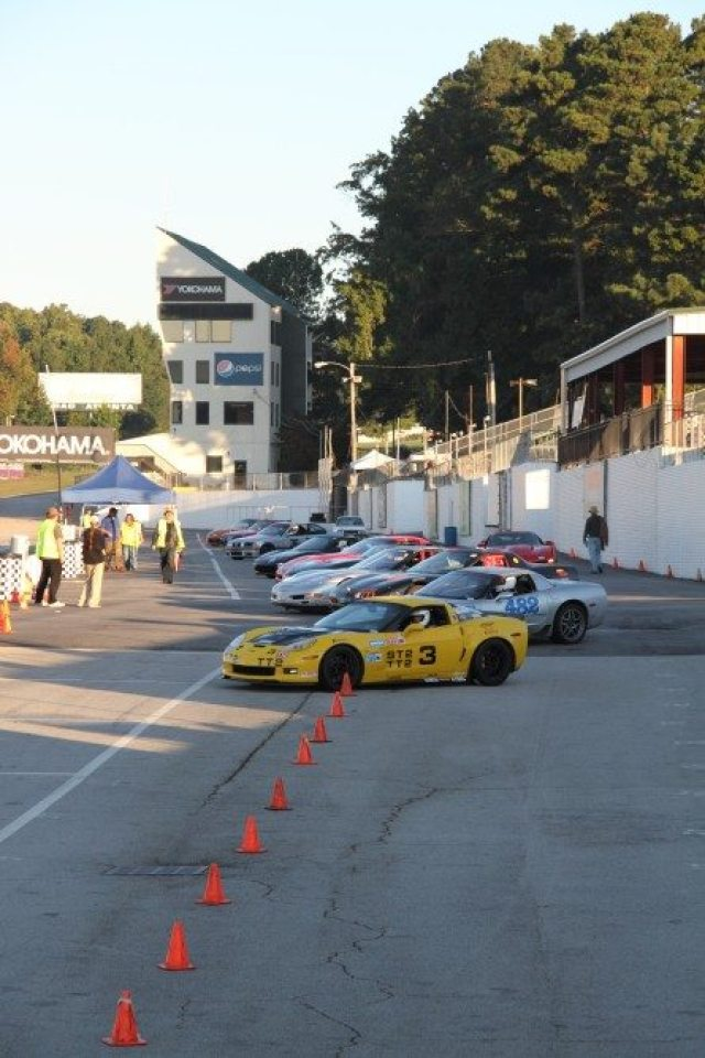 Road Atlanta rules stipulate long pants only in the hot pits.