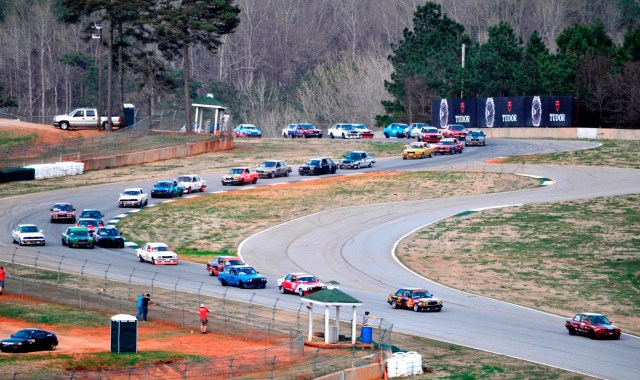 "A national record for a regional race, 35 Spec E30s took the green at NASA Southeast's ""Race for the Pi"" at Road Atlanta in March, an event that combined NASA Mid-Atlantic and NASA Florida."