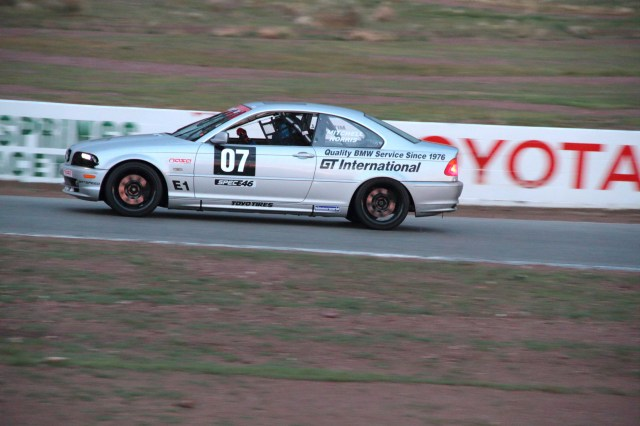 Team GTI Racing's consistently fast lap times gave it the lead for the whole race and the win in E1.
