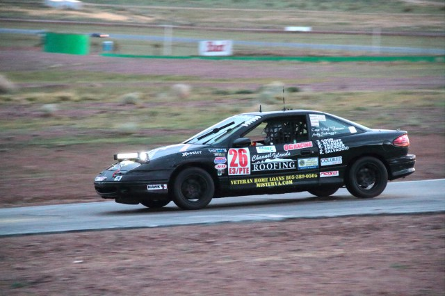 Team Sampson Racing's driver Roman Vaisman drove the full three hours to victory in E3 over another Saturn SC2 campaigned by Team 805 Racing.