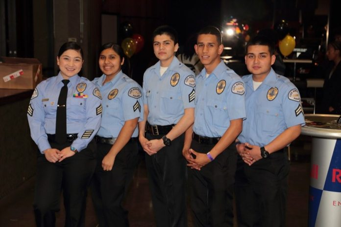 The Race For Youth raises money to fund youth programs that are part of the Mission Community Police Council. These cadets are part of the program.
