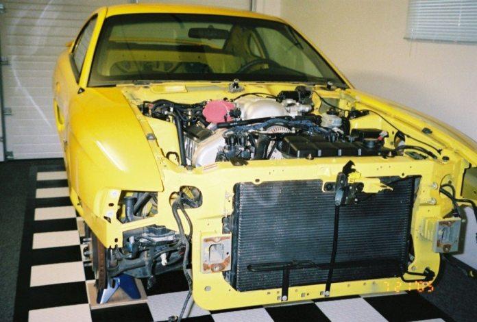 Wilfong built his Mustang in a single-car garage at home.