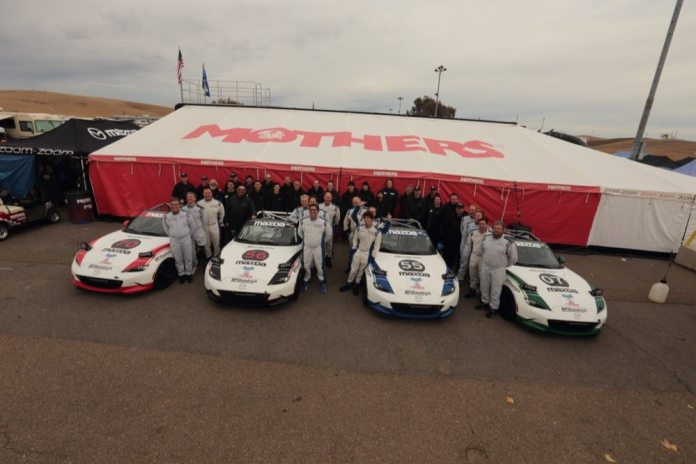 Mazda fielded four brand-new Global MX-5 Cup Cars at the 2015 25 Hours of Thunderhill, all of which finished the race.