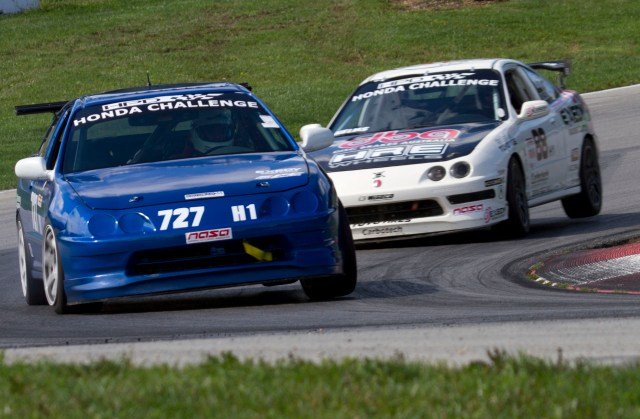 After a long week for both of these drivers in Honda Challenge, Meris and Helms finally face off on track at Mid-Ohio during the Championship race.