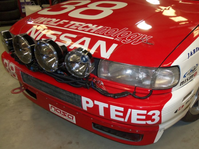 """Drop the light bar on the two rods, install the pins, plug in the wire and """"then there was light!"""" You are ready to race at night, especially since your lights were unharmed during aggressive daytime racing."""