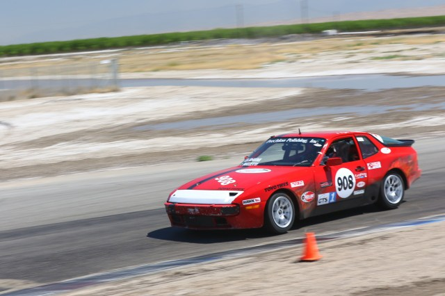 Team Buzz Bomb Racing scored its second E2 win of 2016 at Buttonwillow in April.