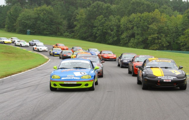 NASA Spec Miata Field 2015