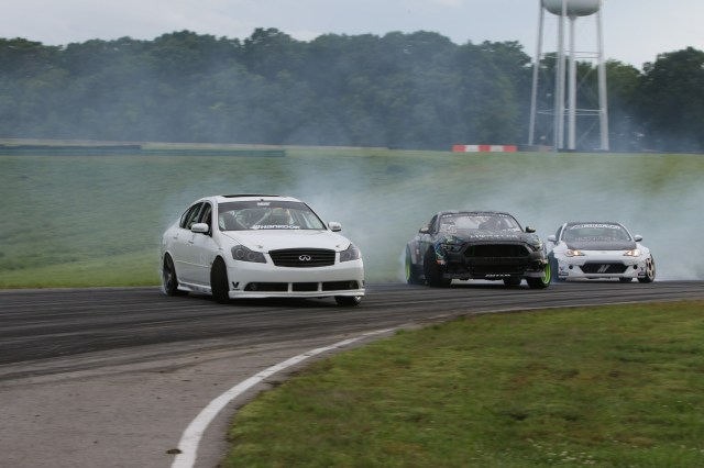 Pro drifter Ryan Tuerck put on a show at this year's HyperFest with fellow Formula D stars Vaughn Gittin Jr. and Chris Forsberg.