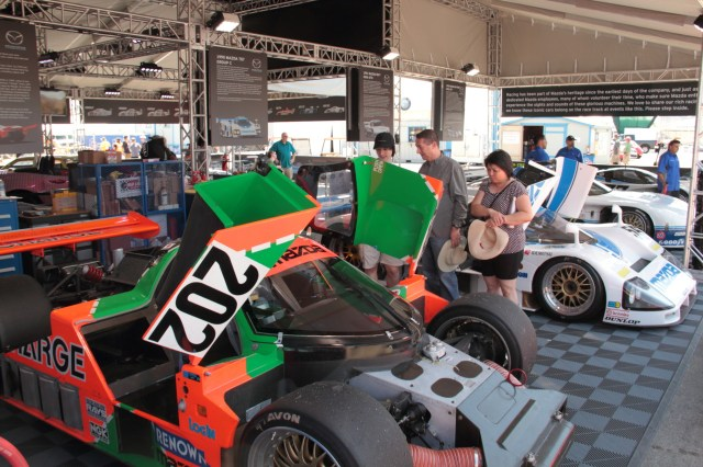 Fresh from a full restoration, the 1989 767B scored two GTP class victories in 1989 in the All Japan Sports Prototype Championship and finished ninth overall at Le Mans that year.