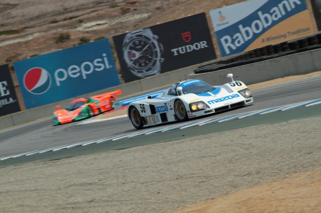 For the first time in a long time the 767B and 787 appeared on track together at Mazda Raceway Laguna Seca at the Rolex Monterey Motorsports Reunion.