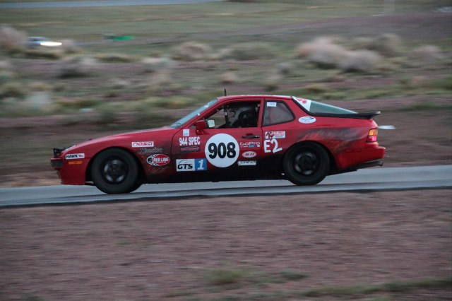 Team Buzzbomb Racing added to its undefeated streak in E2 at Willow Springs in July.