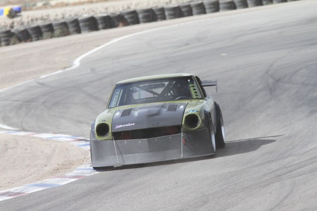 Thomas Johnson kicked it old school in his Datsun 240Z to take second in Super Unlimited.