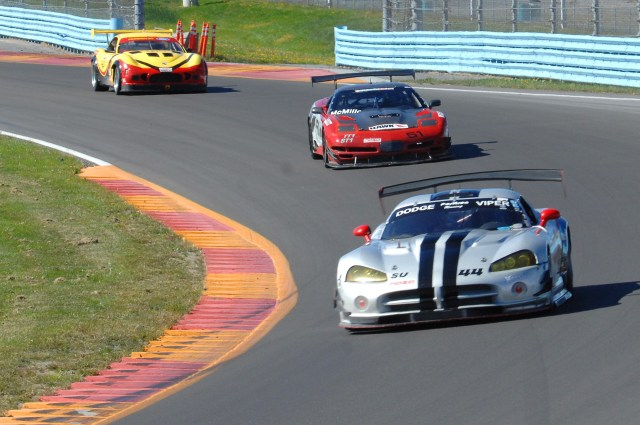 Ray Sweers piloted his Dodge Viper through two double-yellows to take home second place.