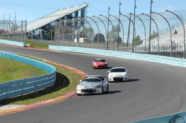 Daniel Honovich took advantage of a late-race restart to take the lead, but couldn't hold on, and finished second.