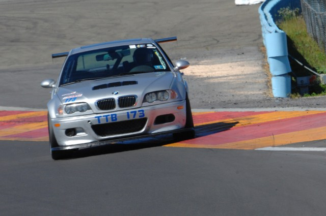 Will Chung piloted his E46 M3 to a 2:04.994, just more than .200 seconds faster than reigning TTB Champion Dave Schotz.