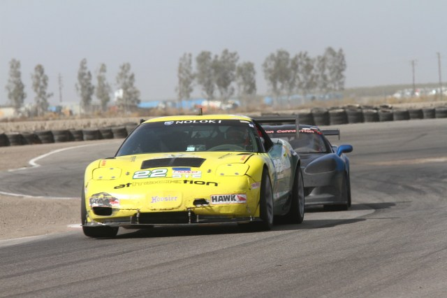 Oli Thordarson took second in ST2, but set the fastest lap of the race in his C5 Z06.