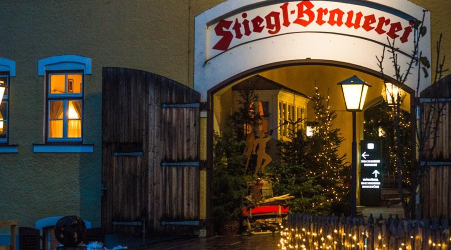 Besuch Stieglbräu