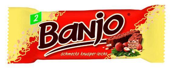 Ausgestorbene Retro Snacks Baff Banjo Lila Pause Und Co