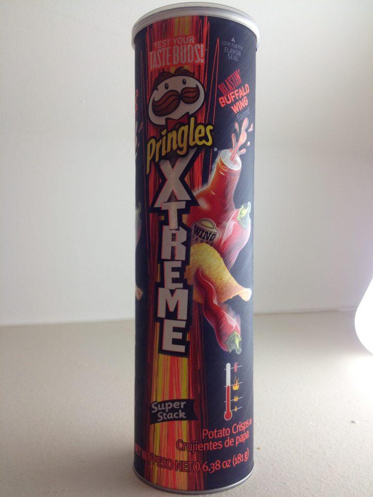 Pringles Xtreme Blastin' Buffalo Wing 181G, 2015