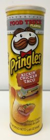 Pringles Food Truck Kickin Chicken Taco