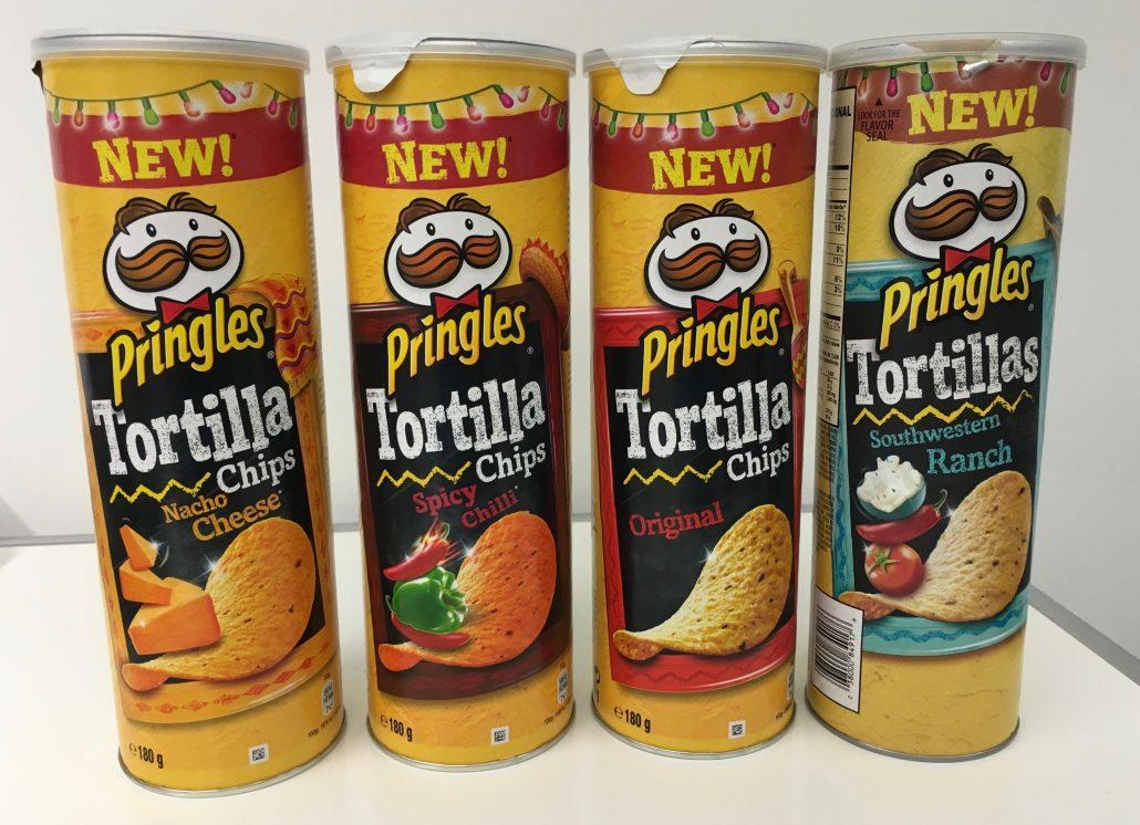 Pringles 4 mal Tortillas