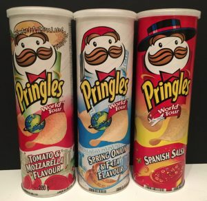 Pringles World Tour Serie