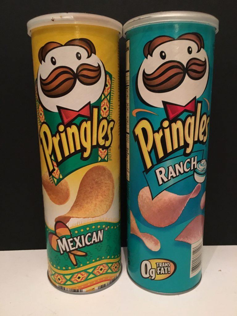 Pringles Mexican und Ranch – ohne Trnasfett