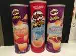 Pringles Delight, Lightly Salted(50% less Sodium) und Light Aromas mit Spicy Thai with a touch of Coconut Oil, 160G, 2015