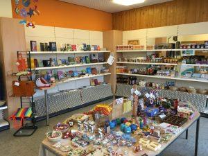 Der Eine-Welt-Laden auf Langeoog bietet viele Raum zum Stöbern.