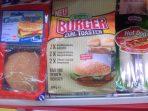 Tillmann's Burger zum Toasten aus dem Kühlregal.
