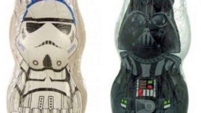 Hohlfiguren Star Wars osterhasen
