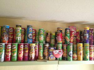 Pringles Regal Küche