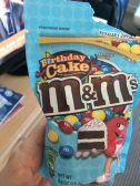 Mars M+M Birthday Cake